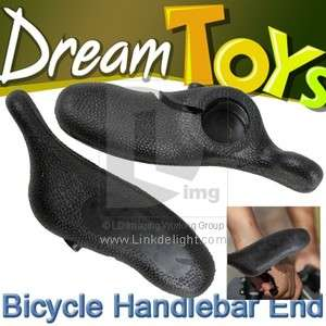 Mountain Bicycle Bike Cycling Handlebar Bar End Grip