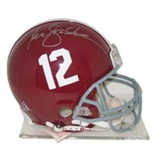Ken Stabler Alabama Crimson Tide Autographed Full Size