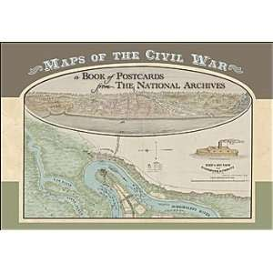 Maps of the Civil War  A Book of Postcards Office