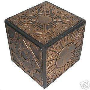 HELLRAISER PUZZLE BOX LAMENT BUTTON TOP ANTIQUE GOLD