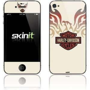Skinit Harley Davidson Eagle Flames Vinyl Skin for Apple iPhone