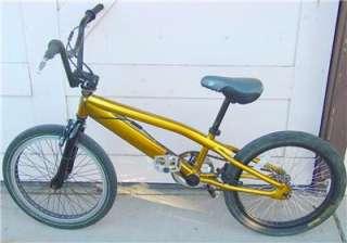 MONGOOSE BMX Bike 20 Gold Original