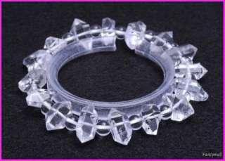 156ct TOP quality DT Herkimer diamond quartz crystal bracelet healing