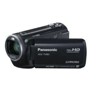 Panasonic HDC TM80 Flash Memory Camcorder (Black
