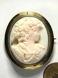 high quality, beautiful and wonderfully wearable antique cameo