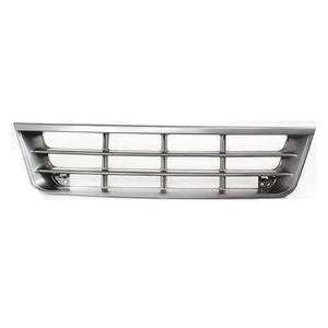 TKY FD07085GA MT5 Ford Econoline Van Chrome/Gray Replacement Grille