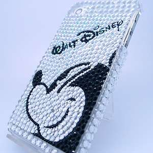 Mouse Bling Hard Case Cover For iPhone 4 & 4S + Mirror New
