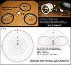 W8AMZ 40m Vertical Wire Antenna HF Dipole G5RV OCD