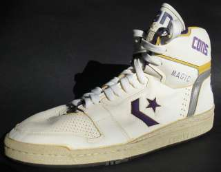 GAME USED Magic Johnson AUTOGRAPHED Signed LAKERS Basketball Shoe AUTO