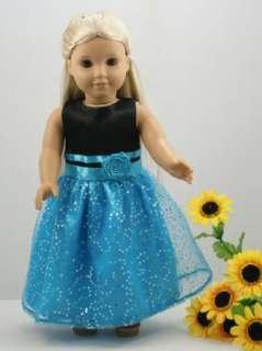 1PCs Doll Clothes Princess Dress for 18 american girl new B/B