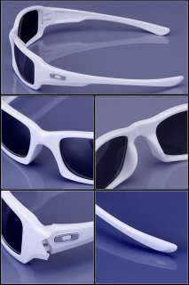 OAKLEY FIVES SQUARED Polished White Black Sunglasses 03 443