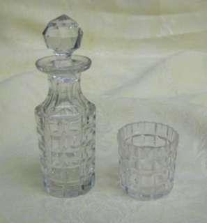 VICTORIAN SILVER PLATE&CUT GLASS BOTTLES CONDIMENT SET