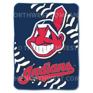 Cleveland Indians 60x80 Big Stitching Super Plush Throw