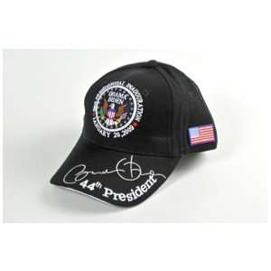 Black Inauguration Baseball Cap
