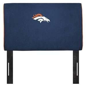 Denver Broncos NFL Team Logo Headboard