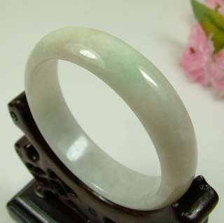 On Sale Light Green White Natural A Jade Jadeite Bangles Bracelets