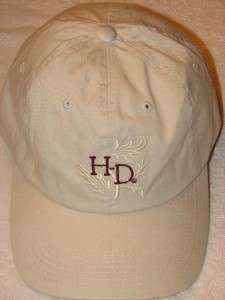 HARLEY DAVIDSON MOTORCYCLES VINTAGE EMBROIDERED HAT CAP NEW