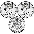 2012 P&D BU John F Kennedy Half Dollar (1) Two Coin Set (PRE SALE