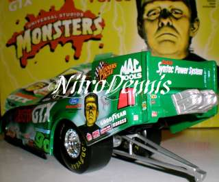 NHRA JOHN FORCE 124 Funny Car MONSTERS Frankenstein