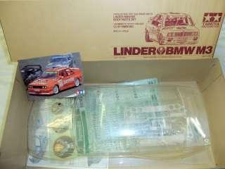 Tamiya LINDER BMW M3 1/10 RC Body set === NIB ===