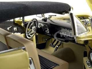 1958 LINCOLN CONTINENTAL MARK III 118 YELLOW PLATINUM