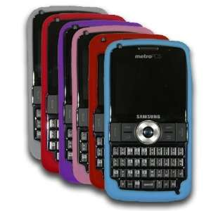 Samsung Code i220 Silicone Skin Cases   Frost, Red, Purple, Pink
