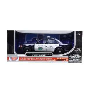 2007 Ford Crown Victoria Lynden Police Car 1/24 Toys & Games