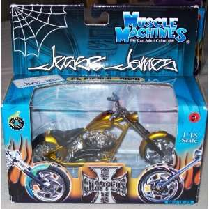 West Coast Choppers Jesse James 118 Scale   El Diablo