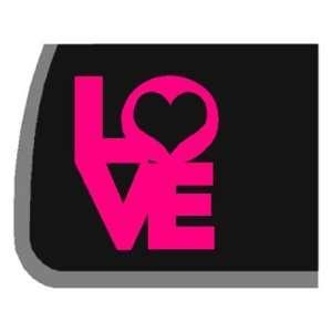 PINK LOVE Car Decal / Sticker Automotive