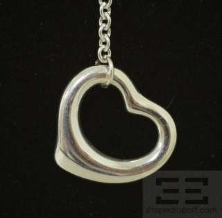 Co. Elsa Perretti Sterling Silver Open Heart Lariat Necklace