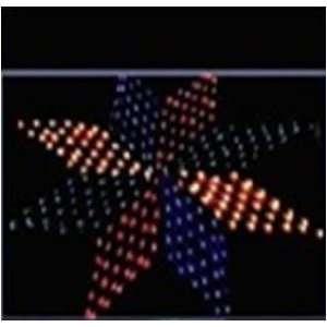 Octangle net light 200pcs LED 1m Multi colored christmas lights