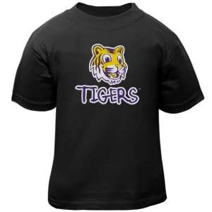 NCAA LSU Tigers Toddler Baby Mascot T Shirt   Black