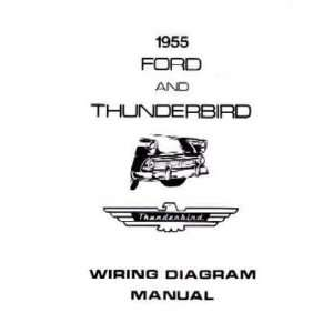 1955 FORD Full Line Wiring Diagrams Schematics Automotive
