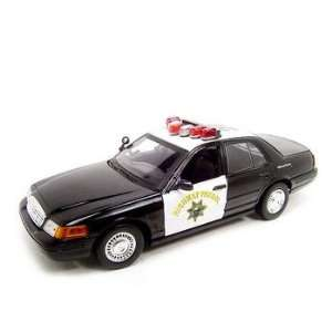 Ford Crown Victoria Chp Police Car 118 Diecast Toys & Games