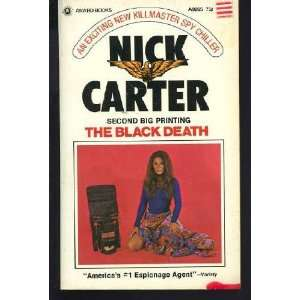The Black Death Nick Carter Books