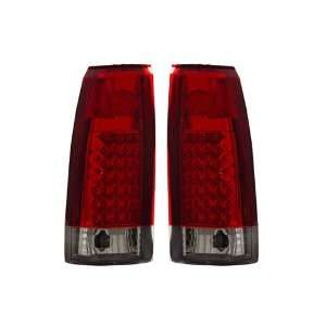 88 98 Chevy Full Size Red LED Tail Lights Automotive