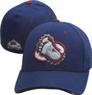 Colorado Avalanche Foot Logo Navy Shootout Flex Fit Hat