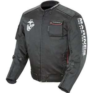 Joe Rocket Marines Alpha Mens Textile Sports Bike Motorcycle Jacket