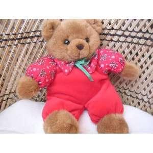Russ Christmas Teddy Bear 12 Plush Toy Stuffed Animal