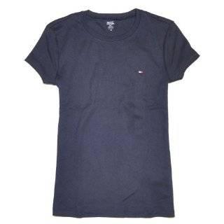 : Tommy Hilfiger Womens Boat Neck Long Sleeve Sleep Shirt: Clothing