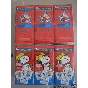 Peanuts Snoopy & Charlie Brown Tissues   6 Packages  Toys & Games