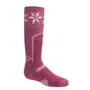 SmartWool Snow Fall Ski Socks   Merino Wool (For Kids