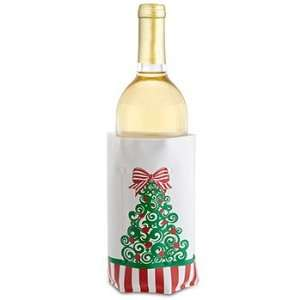 Christmas Tree Wine Chill Wine Bottle Cooler Christmas Party Wine