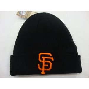 San Francisco Giants Beanie Cuffed Beanie Knit Hat Raised