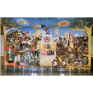 Diego Rivera   24 x 16 inches   A History of Medicine