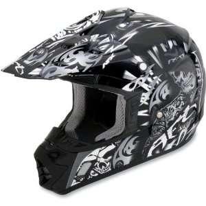 AFX Black Pearl White Shade FX 17 Helmet XXLarge