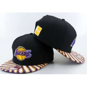 LOS ANGELES LAKERS NEW ERA HWC SNAPBACK CAP HAT  Sports