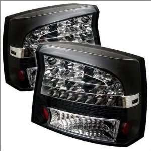 Spyder Dodge Charger 05 08 LED Tail Lights   Black