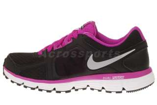NIKE Wmns Dual Fusion ST 2 MSL Black Purple Womens Running Shoes