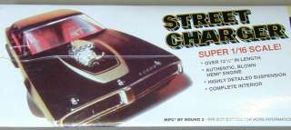 16 Large 1971 Dodge Street Charger Model Kit MPC 1971 Dodge Charger